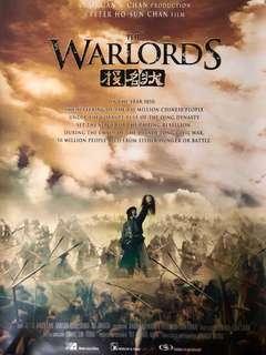 Warlords Poster (Reprint)