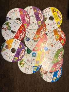 國語月刊出版  幼幼版CD*14片