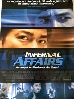 Internal Affairs International Poster (Original)