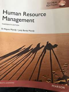 Human Resource Management 13th Edition Pearson Textbook