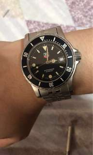 Classic Original Tag heuer Professional diver 200 m WD-1210-DO