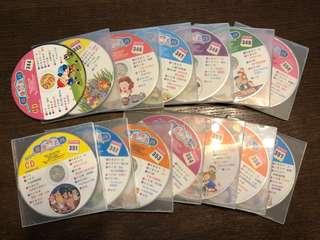 國語月刊出版 成長版CD*14+DVD*7