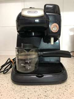 Delonghi steam coffee cappuccino maker