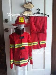 PROFESSIONAL COSTUME (FIREMAN B)