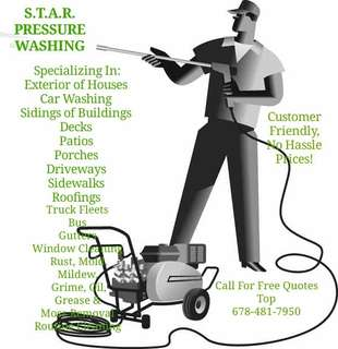 S.T.A.R. Pressure Washing Services