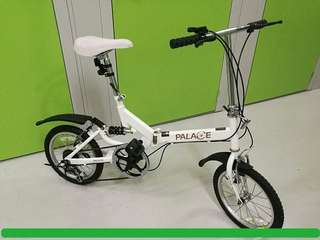 Palace Bicycle ..16 Inch Trendy Folding Bike 摺疊單車