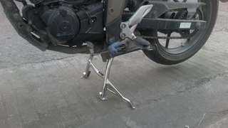For sale suzuki gixxer stainless steel centet stand #304