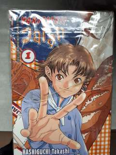 Komik Yakitate Japan kolpri