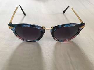Fly Floral Sunglasses