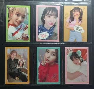 [WTT] TWICE what is love photocards