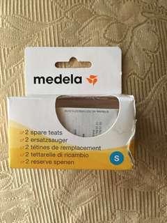 BNIB Medela Milk Bottle Teats (2-pack)