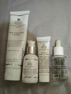 Kiehls clearly corrective series