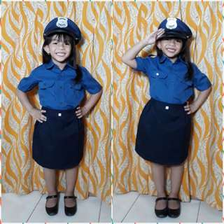 PROFESSIONAL COSTUME (LADY POLICE)