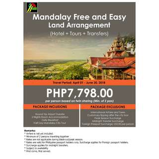 Mandalay Free and Easy Land Arrangement