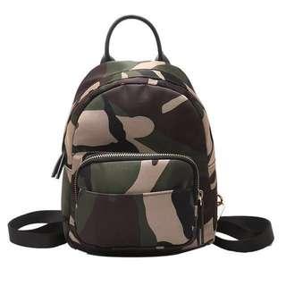 防水防污尼龍迷你後背包 耐磨牛津布小背包後背包-預購款