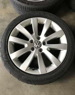 Rim Volkswagen 17 inch golf jetta passat scirocco