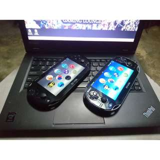 PS VITA UNITS FOR SALE or For Trade (legit Firmware po lahat)