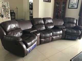 Cheers theater sofa set