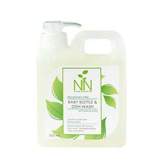 Nature to Nurture Baby Bottle and Dish Wash 500ml