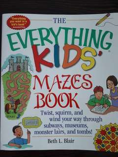 The Everything Kids Mazes Book - Beth L Blair