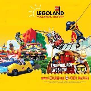 1-day Legoland Malaysia Combo Ticket