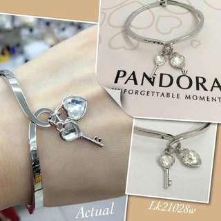Pandora heart w/ key bangle