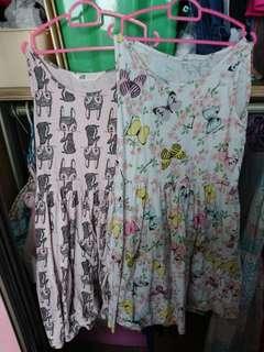Preloved H&M dresses