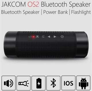 Hot stuff🔥- 3 in 1- JAKCOM OS2 Outdoor Bluetooth Speaker + PowerBank + LED flash light👍🏻