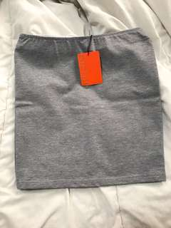 Nichii Grey Skirt Women Office