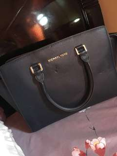 REPRICED!!! Michael Kors Large Selma no strap included (with flaws)