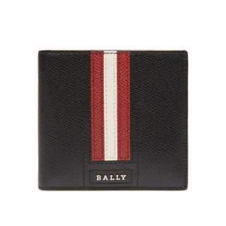 100%全新正貨瑞士 Bally Teisel 男裝銀包黑色 Men's Bovine Leather Coin Wallet in Black