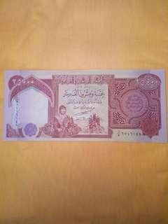 Dinar Iraq iqd 1 juta(40 keping note 25000)