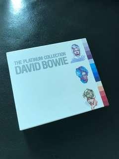 David Bowie 3 CDs the platinum collection