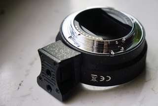 YONGNI EF-NEX AUTO FOCUS LENS ADAPTER CANON TO SONY