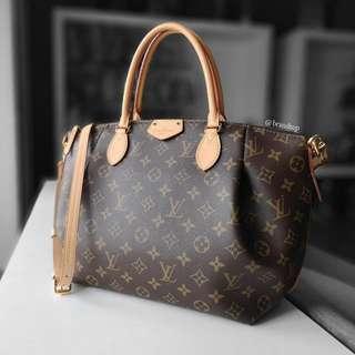 Authentic Louis Vuitton Monogram Turenne MM LV