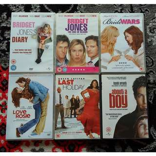 Assorted DVD Movies: Chick Flicks / Drama