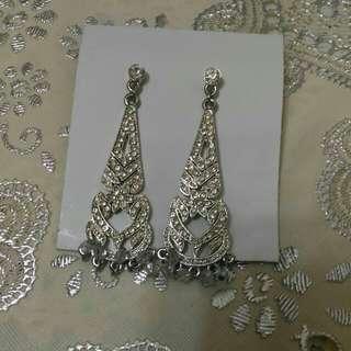 派對華麗優雅小鑽亮晶晶耳環