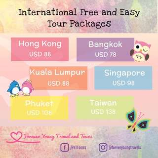 Foreveryoung Travel and Tours