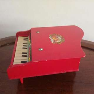 Old Baby Piano Toy
