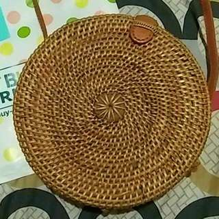 Round Rattan Bag 🇮🇩