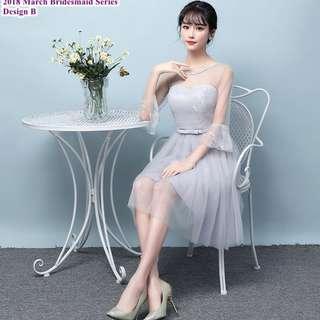 BRIDESMAID DRESS 2018 SERIES ( pre-order 180301)