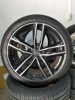 19 Inch 5x114.3 Original SSW Used Rim & Tyre