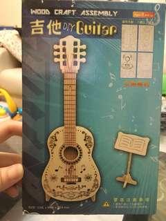 DIY手作文創商品-吉他