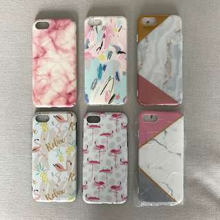 Assorted iphone 7 covers