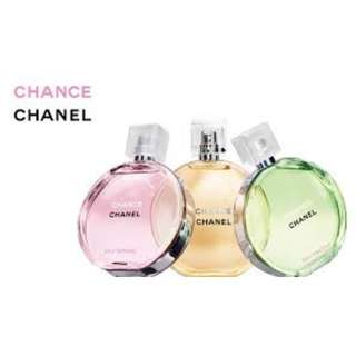 Chanel collection U.s tester perfumes