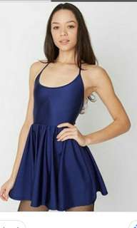 American apparel disco skater dress