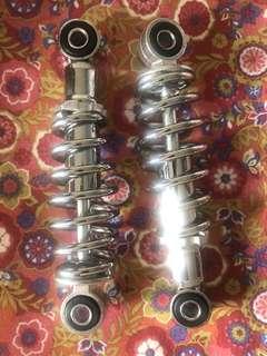 rear suspension 18cm