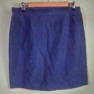 Denim-Like skirt