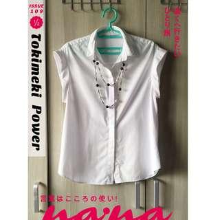 🎁母親節特賣🎉ZARA後交叉造型襯衫 (100%棉質)