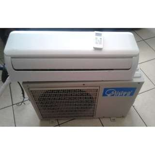 Midea 1.0HP Aircon (Moving House Sale-New In conditions)
